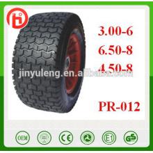 3.00-6 6.50-8 4.50-8 16 lawn mower wheels16 lawn mower wheels,Pneumatic wheels for Lawn mower, trolleys, trailer,whee barrow