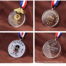 Trophée de Cristal Clair Sculpté Trophée de Récompense de Cristal Nouveauté