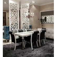 Pós-moderno estilo mesa de jantar de madeira (LS-221)