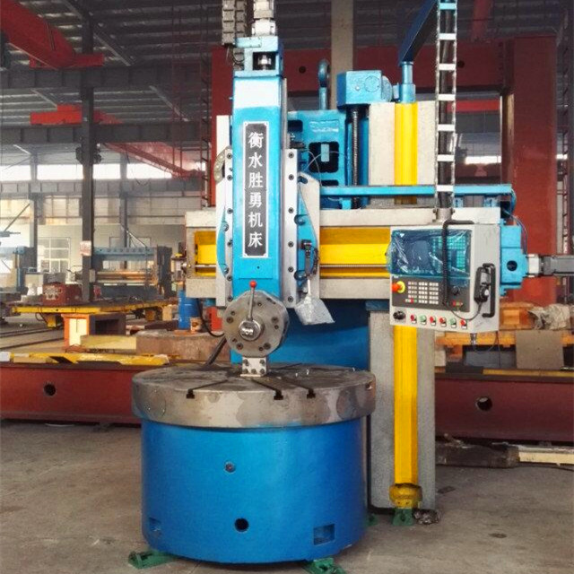Single column metal vertical lathe