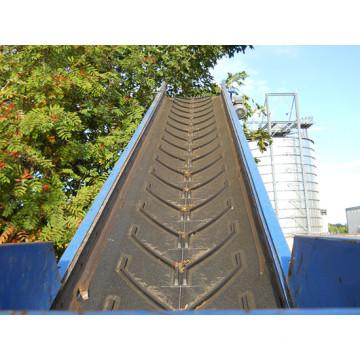 Chevron Patterned Conveyor Belt