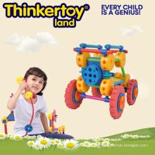 Bloques de patrón DIY juguetes educativos de la novedad para el jardín de la infancia