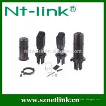 Fechamento de emenda de fibra óptica do tipo Dome Type 12-144