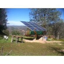 Support de poteau moulu pour système de panneaux solaires