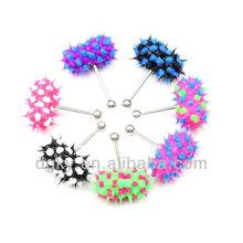 Vibrating tongue ring,Fashion body jewelry