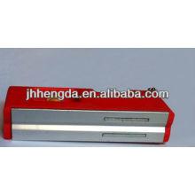 HD-MN04, мини-пластиковый спиртовой уровень с 3 флаконами, алюминиевый уровень