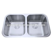 Fregaderos de cocina de acero inoxidable 304