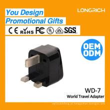 Multifuncional Travel Plug 10a usb tomada de parede, soquete ce rohs aprovado