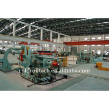 High speed and high precision steel coil slitting line