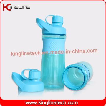 Cutom Farbe 800ml Neues Design Protein Shaker Flasche Logo Druck ODM (KL-7061)
