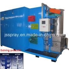Horno de recubrimiento en polvo Spl-R para resolver la superficie del producto