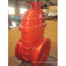 Awwa C509 Resilient Seat Gate Valve, Top Flange for Actuator