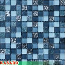 Decorative Wall Mosaic Designs, Modern Bathroom Mosaic Tile (KSL-131060)