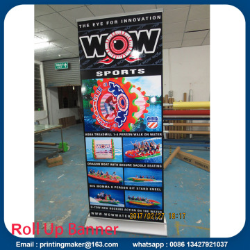 Base Deluxe Wide Single Roll Screen Up Banner Stands