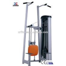 commercial super gym equipment Chip & Dip Assist Machine/pin loaded Pull-up Machine