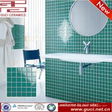 Porzellan liefern grüne Küche Wand Keramik Mosaikfliesen Design