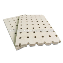 China High Density Soundproof Green Fireproof Perforated Fiber Cement Board 18mm