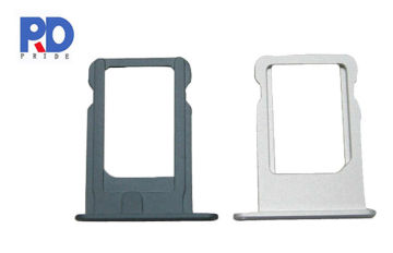 Apple Sim Card Tray For Iphone 5s , Cell Phone Replacement Parts