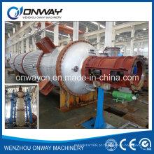 Tfe Destilador de filme fino agitado de alta eficiência Destilador de vácuo Equipamento Evaporador rotativo Fábrica de destilação de óleo diesel
