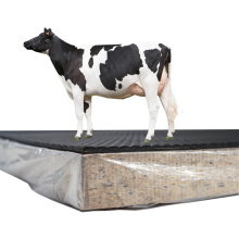 High Quality Foam Anti Slip Cow Bed Soft Comfort Dual-Layer Rubber Mat