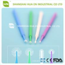 Micro-applicateur dentaire / micro-brosse dentaire / Microbrush dentaire avec homologation CE