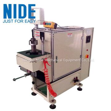 Economical air conditioner motor stator coil lacing machine