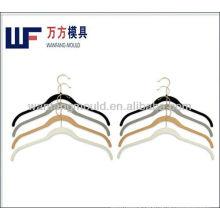 plastic simple hanger mould/household clothes hanger plastic mold maker