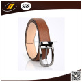 Luxury Genuine Leather Belt with Alloy Pin Buckle