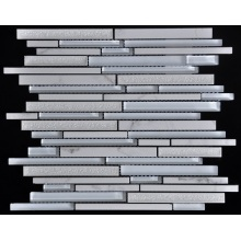 Strip-Type Crystal Mix Stone Mosaic