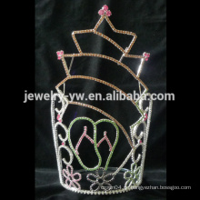 Art und Weisemetall versilbert Sternform große hohe Kristallaufstellungskrone für Verkauf