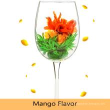 Chinesischer künstlerischer handgemachter Blumen-blühender Tee / China-Geschenk-Blumen-Tee-Bälle