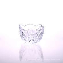 Test de la FDA passé le bol de salade en verre blanc papillon haut