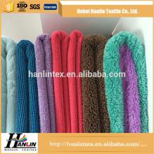 Venda quente não irritante tecidos tingidos de microfibra de poliéster