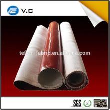 El precio más bajo para el caucho de silicona recubierto de tela de fibra de vidrio para el colector de polvo