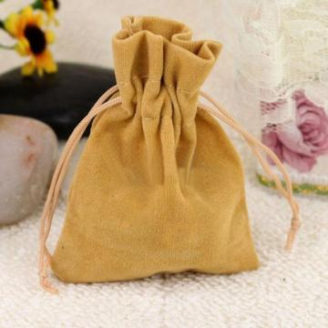 Blank Flannelette Small Environmental Protection Bag (GZHY-dB-016)