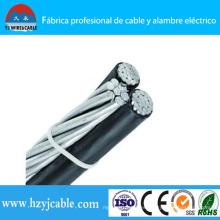 Cable de alimentación de aluminio aislamiento PE