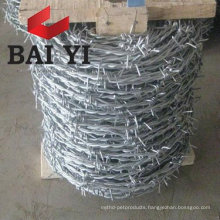 Galvanized Steel Coiled Barbed Wire ( Direct Factoty )