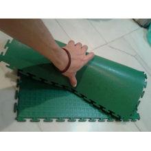 2017 nouveau produit avec le plancher d'interlock de PVC d'intérieur de haute qualité pour des sports d'intérieur