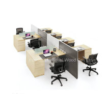 Nova mesa de trabalho moderno de mesa de computador estação de trabalho de madeira (HF-YZT0060)