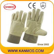Rindsleder Möbel Leder Arbeitsschutz Handschuhe (31013)