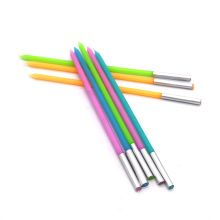 Vela de lápiz de cumpleaños de 4 colores de diámetro de 0.37 cm