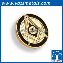 personnaliser l'épingle, les épingles personnalisées de freemason