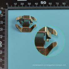 Peça de estampagem de metal CNC de alta precisão (T009)