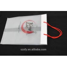 Прозрачный пакет PO с ручкой и ластовицей