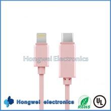 Beste USB 3.1 Typ C zu MacBook und iPad ISO8 Aufladen USB Kabel