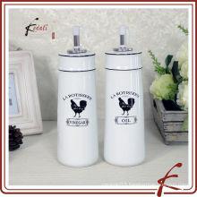 Ceramic Oil and Vinegar Bottle