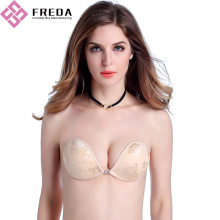 Comfortable Completely Strapless Front Clasp Bra