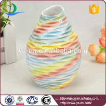 Hot Selling Colorful Home Decor Ceramic Flower Vase