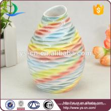 Hot Selling Colorful Home Decor Ceramic Flower Vase