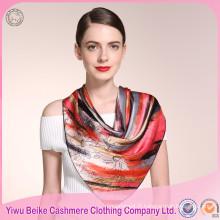Foulard en soie coloré de haute qualité de vente chaude pour la peinture
